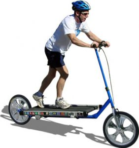 Crazy Exercise Gadgets Bicycle Treadmill